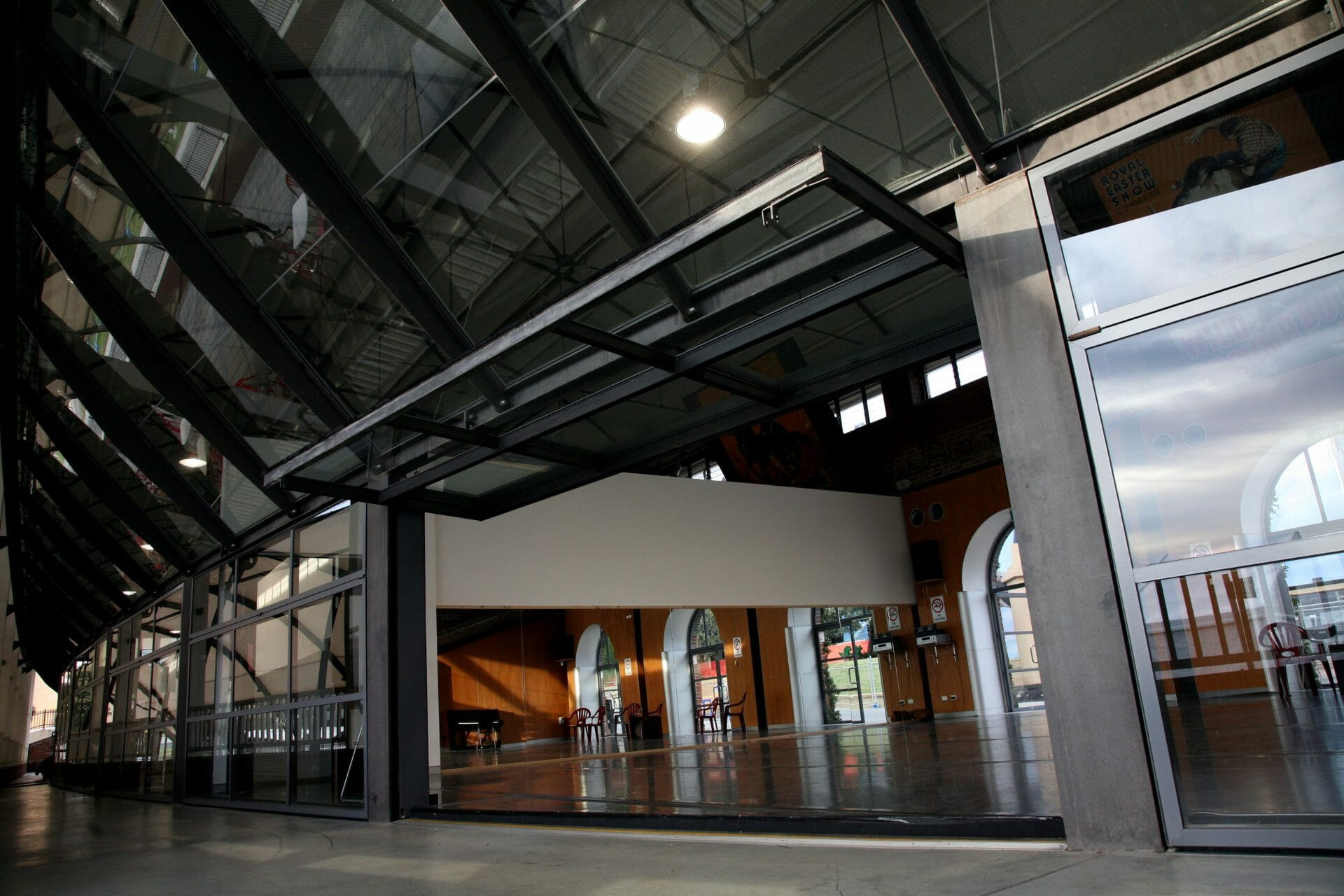 an industrial fitout project for Brent Street Studios