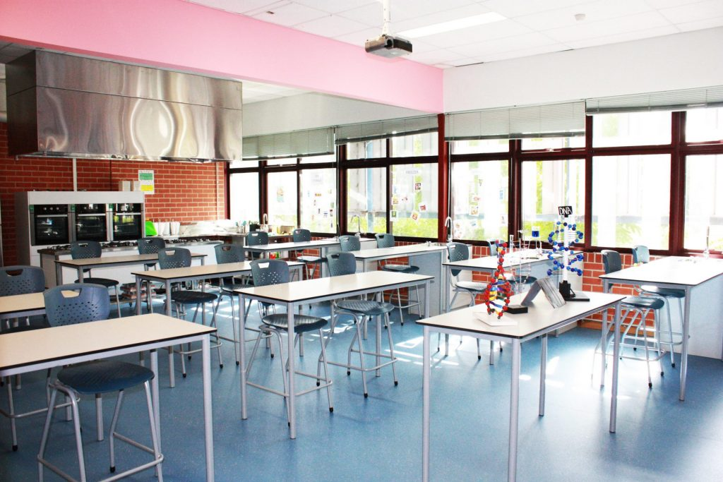 an educational fitout project by SOFC