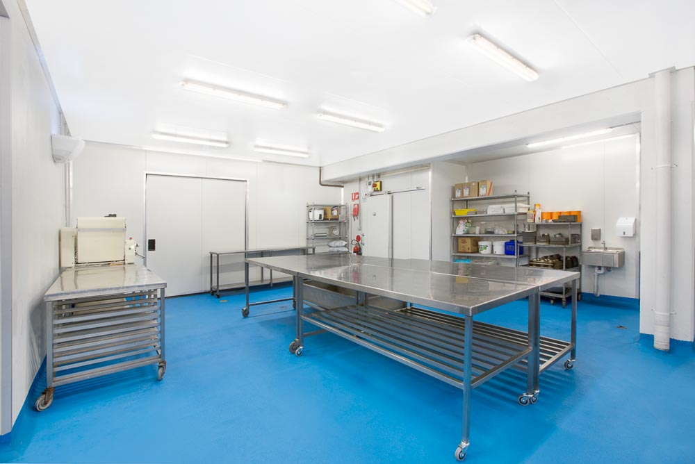 an industrial fitout project by SOFC