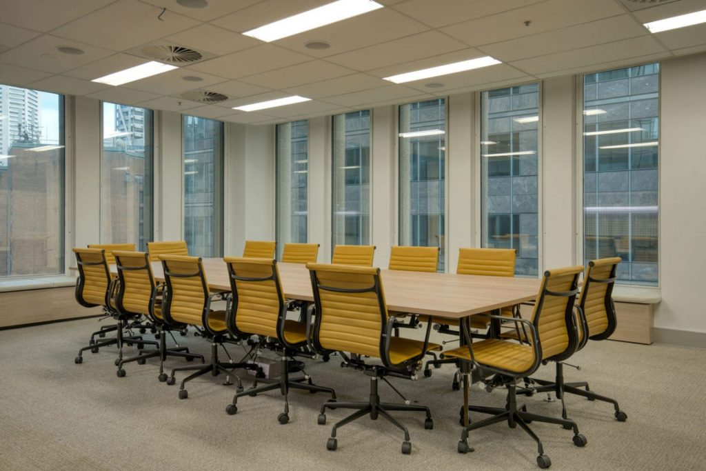 a workspace with quality fitout