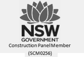 construction panel member of the NSW government